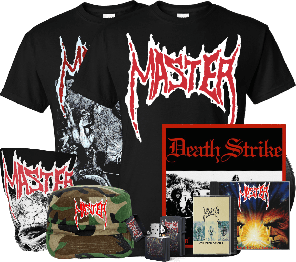 Master band official merchandise